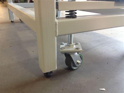 heavy duty work bench  retractable wheels mattin