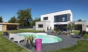 Maison En L Moderne : maisons modernes depreux construction ~ Melissatoandfro.com Idées de Décoration
