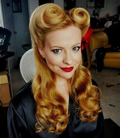 1940s Victory Rolls Hairstyles by 40 Pin Up Hairstyles For The Vintage Loving