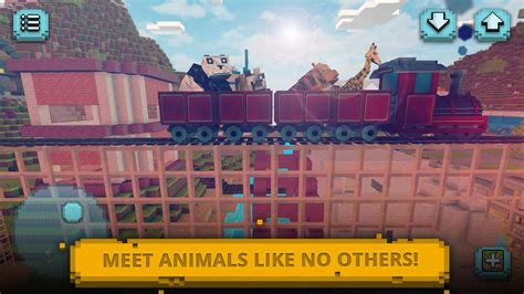 animals craft block world exploration design apk