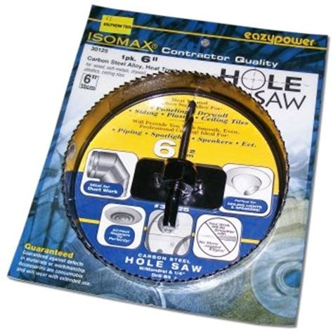 milwaukee hole saw cheap eazypower 6 quot hole saw for