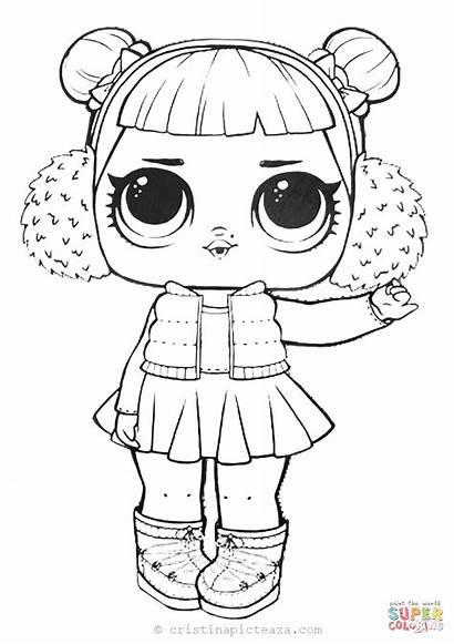 Lol Dolls Coloring Pages Sheets