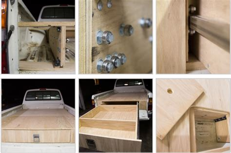 toyota tacoma   bed  drawer system icreatived