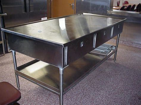 small stainless steel kitchen table stainless steel kitchen prep table 4 kitchen design