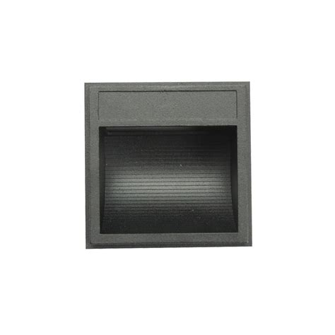 240v led exterior surface mounted wall lights black ww
