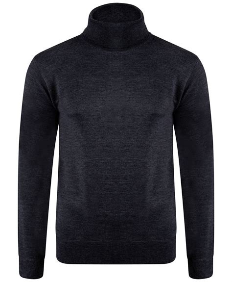 mens wool turtleneck sweater mens plain turtleneck jumper sleeve wool blend knit