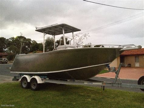 Aluminium Boats For Sale Perth Wa by New Goldstar 6000 Sailfisher Centre Console Power Boats