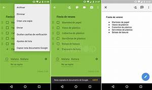como convertir una nota de google keep en un documento de With google keep documents
