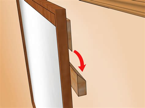 Hang L On Wall by How To Hang A Heavy Mirror With Pictures Wikihow
