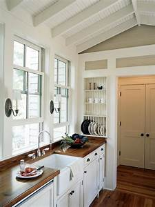 cozy country kitchen designs hgtv With simple and cozy country kitchen designs