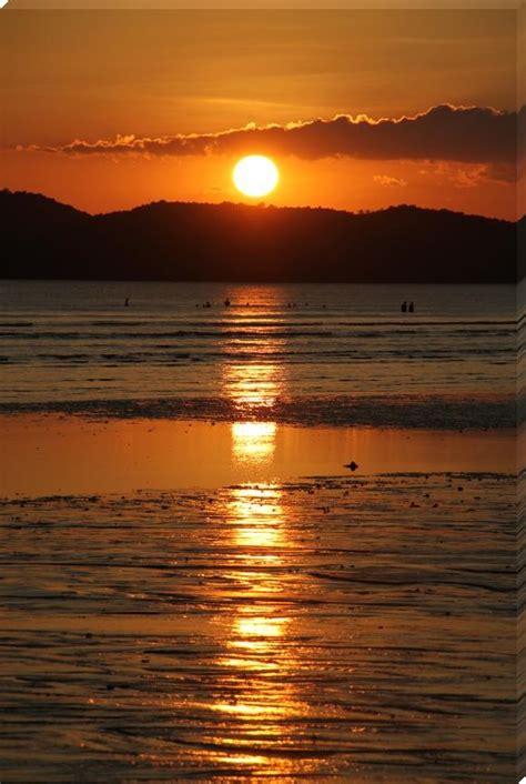 wonderful beach sunset sunset prints  idman shop