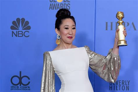 sandra oh acceptance speech 187 sandra oh makes history at 2019 golden globes