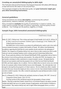 How To Write A Research Paper Mla What Is An Annotated Bibliography And How To Write It In