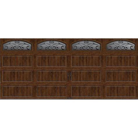 10 x 8 garage door home depot clopay gallery collection 16 ft x 7 ft 6 5 r value