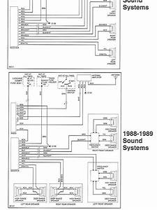 Radio Wiring Diagram Or Chart  - 1989 3 2l Targa