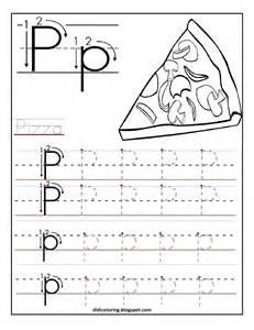 Printable Letter Tracing Worksheets Preschool