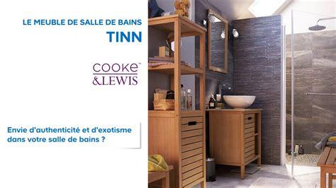 meuble de salle de bains tinn cooke lewis