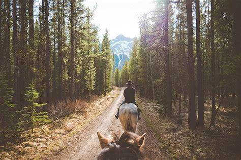 kananaskis horseback hour trail ride alberta canada