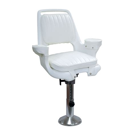 Boat Captains Chair Pedestal wise marine seating captains chair with wp21 18s pedestal