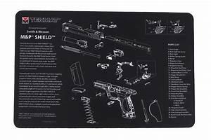 Tekmat Smith  U0026 Wesson M U0026p Shield Handgun Cleaning Mat 17