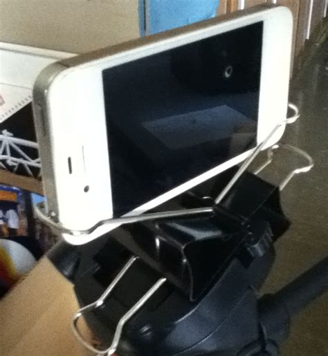 diy iphone tripod diy binder clip smartphone tripod photography gear