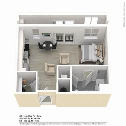 Studio Apartment Floor Plan Floorplans Plans Apartments