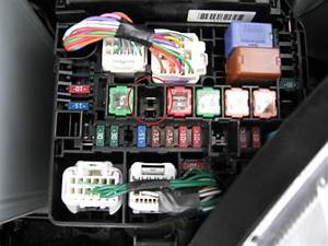 Fuse Box Diagram Toyota Camry 1994
