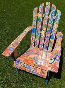 Diy, Painting, Outdoor, Adirondack, Chair, Ideas