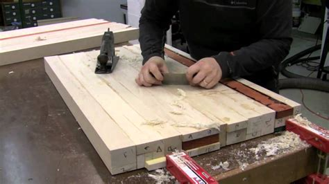 Butcher Block Countertop  Glue Up Youtube