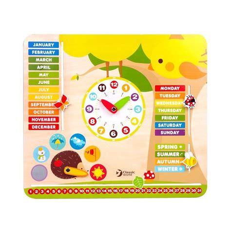 BABYTOWN.LV - Bērnu veikals - Koka attīstošais kalendārs ...