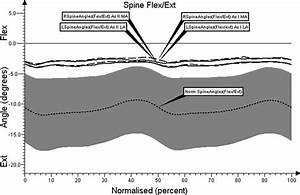 Angular Movement Changes In The Lumbar Spine Before And