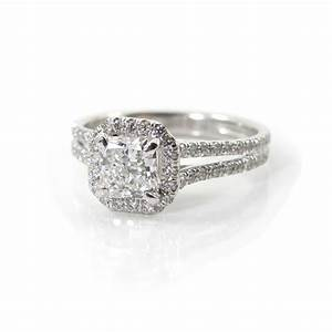 split shank halo engagement ring give me an asscher or With give me wedding rings