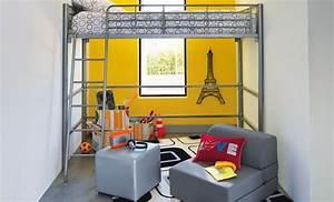 Deco Chambre Ado Garcon : deco chambre ado garcon alinea visuel 2 ~ Teatrodelosmanantiales.com Idées de Décoration