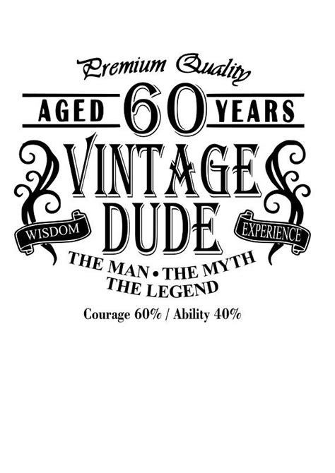 year  vintage dude svg file quote cut file