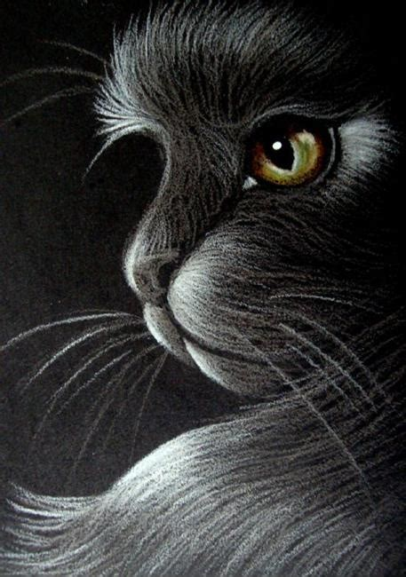 Black Cat Profile A  By Cyra R Cancel From Drawings