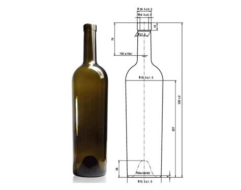 how many are in a 750 milliliter bottle 750 ml bottle dimensions catarc