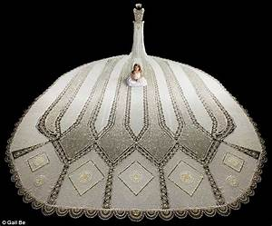 first glimpse of the world39s largest beaded wedding gown With biggest wedding dress