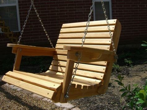 Wooden Porch Swings by 2 Ft Cypress Porch Swing Wood Wooden Outdoor Furniture