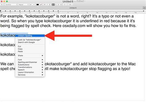 How To Add A Word Or Spelling To Spellcheck On Mac  Techtly Techtly