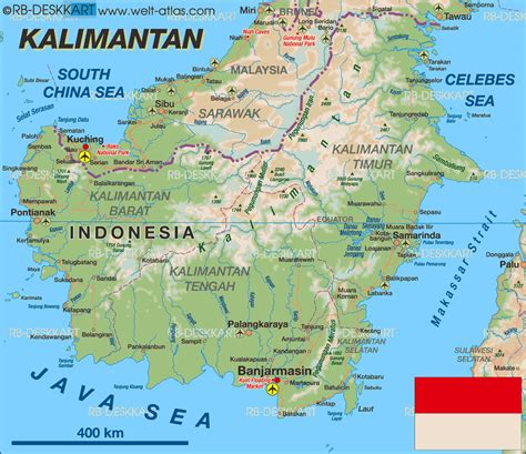 kalimantan  indonesia beautiful places
