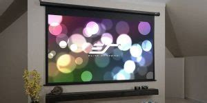 Top 10 Best Motorized Projector Screens in 2020 Complete