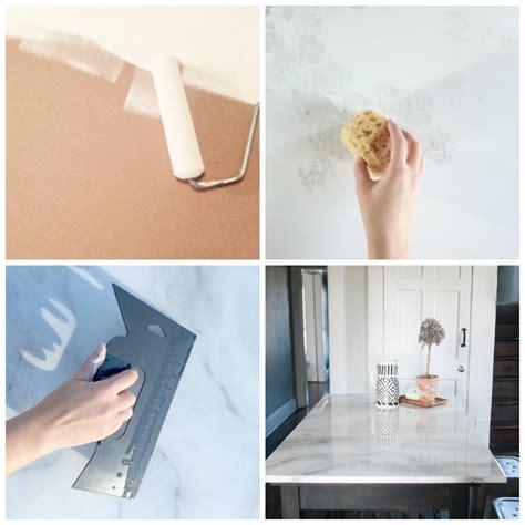 diy deco cuisine plan de travail marbre sublimer sa cuisine avec un