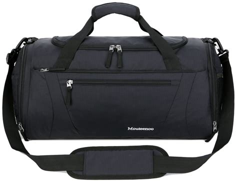 mouteenoo bag 40l sports travel duffel bag for and