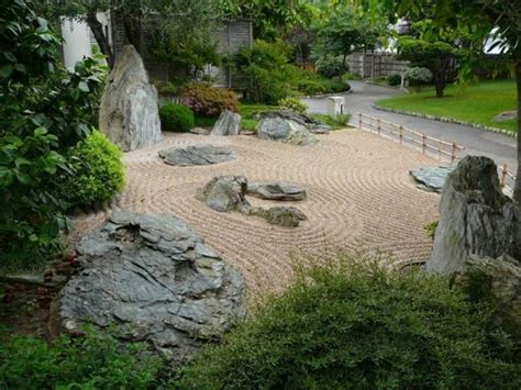 garden rock landscaping japanese sand asian rocks building zen miniature gardens oriental