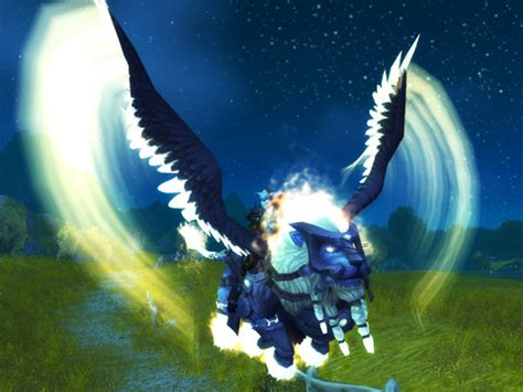 wow adds  purchasable mount winged guardian