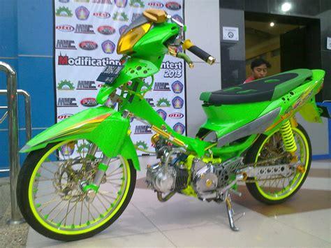 Supra 125 Modif by Modifikasi Supra X 125 Modifikasi Motor Kawasaki Honda