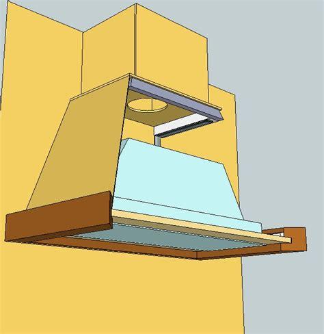 comment enlever une hotte de cuisine comment fabriquer une hotte de cuisine en bois mzaol com