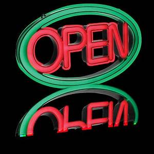 Pro Lite LED Multi Color OPEN Sign With Remote Control