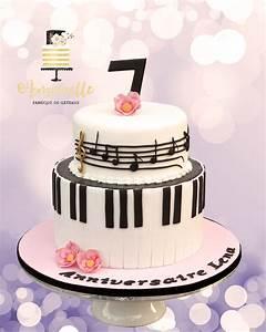 Musique Arrivée Gateau Mariage : gateau piano musique music cake pinterest p tisserie anniversaire musique et gateau ~ Melissatoandfro.com Idées de Décoration