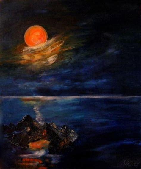 chambre d hote 65 peinture de lune peinture de nuit peinture à l 39 huile